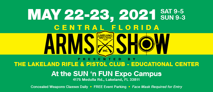 May 22-23, 2021 Arms Show