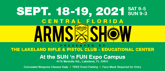 September 18-19, 2021 Arms Show