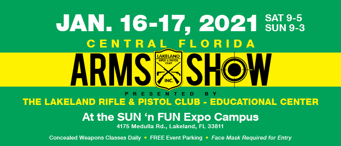 January 16-17, 2021 Arms Show